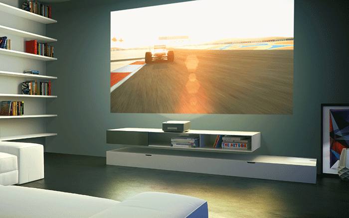 philips screeneo smart led projektor ultra kurzdistanz. Black Bedroom Furniture Sets. Home Design Ideas